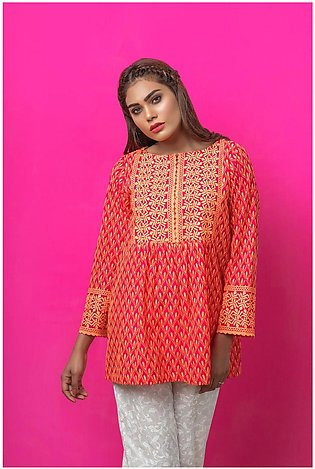 Bonanza Satrangi Pret Collection Chiffley Kurti SUDK1P