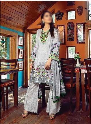 AL ZOHAIB Anum Lawn Collection Monsoon Lawn Collection MLC V-03 D-8B