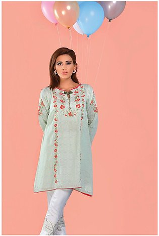 Bonanza Satrangi Pret Collection Jaquard Kurti SUDK1P
