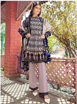 AL ZOHAIB Anum Lawn Collection Monsoon Lawn Collection MLC V-03 D-1C