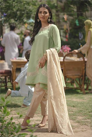 Ethnic by Outfitters Choti Eid Boutique suit (Shirt + Dupatta) WTB291661-1020...