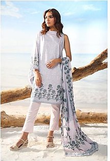 Alkaram Studio Spring Summer Collection 2 Piece Printed Suit with Lawn Dupatta SS-16-19-2-Pink