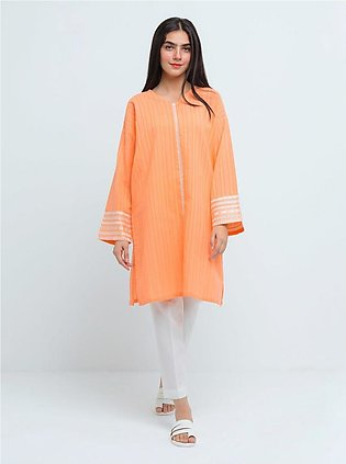 BeehTree Summer Pret Embroidered Shirt BTS20-CH-350-Peach