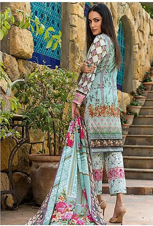 Adamjee Lawn Embroidered Collection 19 Embc-13