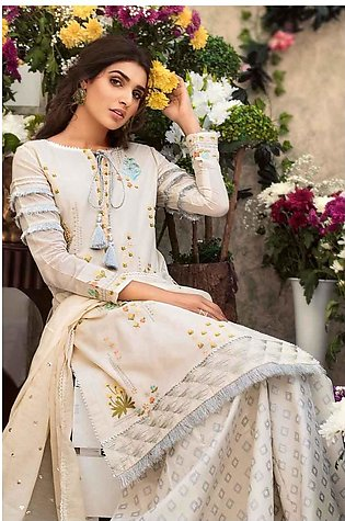 Gul Ahmed Eid Collection Off White FE-187