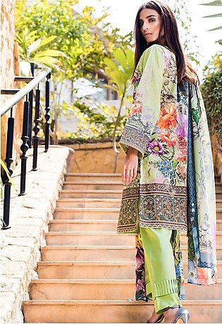 Adamjee Lawn Embroidered Collection 19 Embc-10