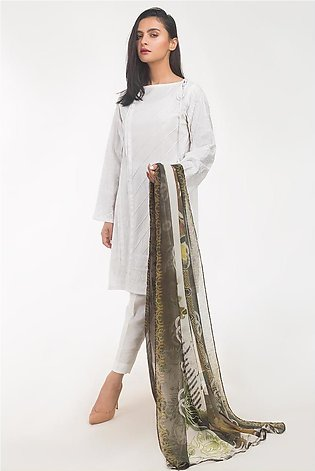 Gul Ahmed Lawn 2 PC Outfit IPS-19-134