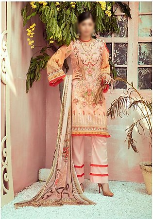NUR Exclusive Unstiched Lawn Collection D-NR - 709