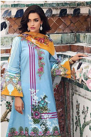 Gul Ahmed Summer Special Edition Blue BM-103