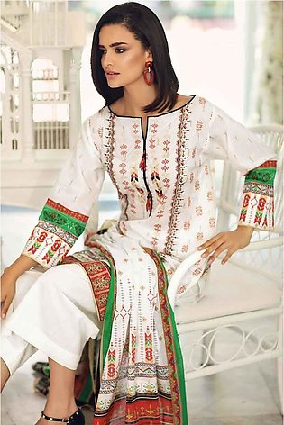 Gul Ahmed Summer Special Edition White CL-532 B
