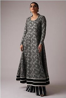 Alkaram Studio Embroidered Slub Lawn Shirt (Sold by Per Meter)