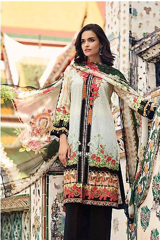 Gul Ahmed Summer Special Edition Off White BM-113