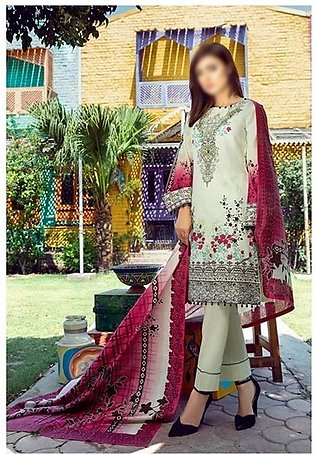 AL ZOHAIB Anum Lawn Collection Monsoon Lawn Collection MLC V-03 D-5C