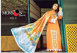 AL ZOHAIB Anum Lawn Collection Monsoon Lawn Collection MLC V-03 D-3B