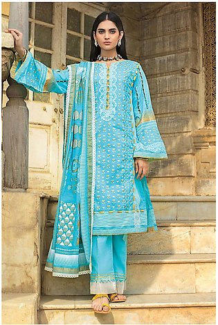 Gul Ahmed Summer Lawn20 3PC Unstitched Lawn Suit ARZ-02