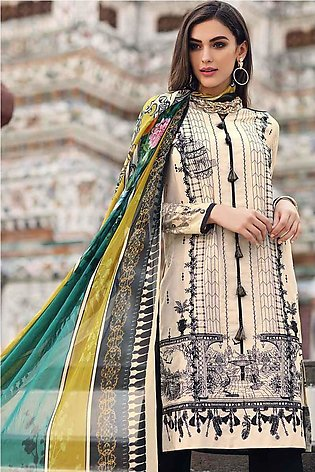 Gul Ahmed Summer Special Edition Beige SSM-02