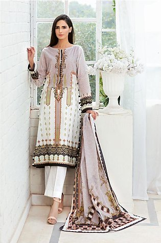 Gul Ahmed Summer Lawn20 3PC Unstitched Lawn Suit CL-820
