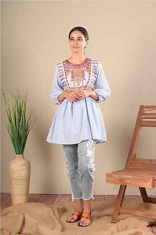 Ethnic by Outfitters Fusion Top WTB391459-10214566-AS-146