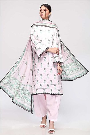 Gul Ahmed Summer Lawn20 3PC Unstitched Lawn Suit CL-794 A