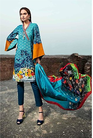 Gul Ahmed Lawn Collection 3 PC SS-167