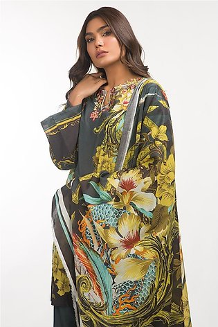 Gul Ahmed Lawn 3 PC Outfit IPS-19-78