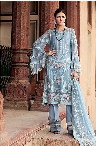 Gul Ahmed Lawn Collection 3 PC LE-02
