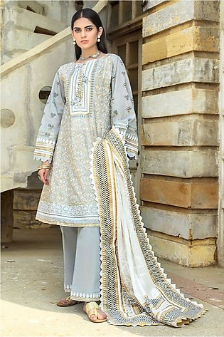 Gul Ahmed Summer Lawn20 3PC Unstitched Lawn Suit ARZ-06