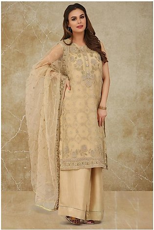 Kayseria dyed, embroidered and embellished 2pc suitKPN-166