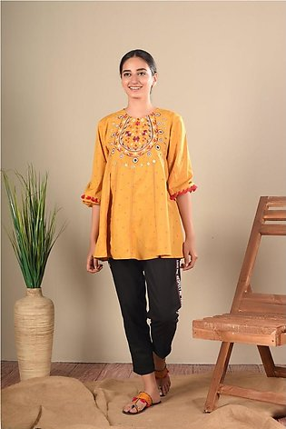 Ethnic by Outfitters Fusion Top WTB391454-10212519-AS-121