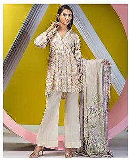House of Ittehad Crystal Lawn Vol-2 LF-CL-3556A-19