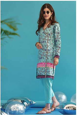 Gul Ahmed Summer Lawn20 2PC Unstitched Lawn Suit TL-277
