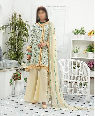 NUR Unstitched Classic Lawn Collection D-NL-108