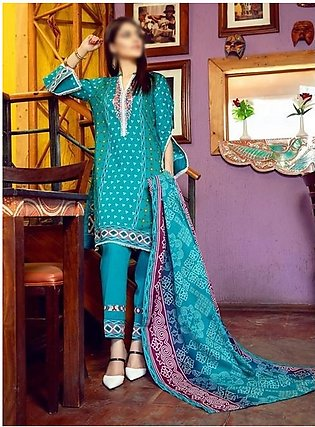AL ZOHAIB Anum Lawn Collection Monsoon Lawn Collection MLC V-03 D-10C