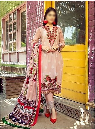 AL ZOHAIB Anum Lawn Collection Monsoon Lawn Collection MLC V-03 D-2B