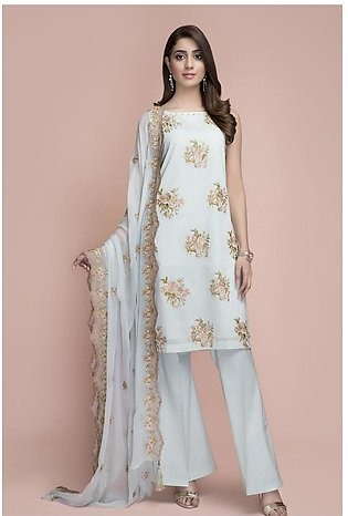 Kayseria Dyed Embroidered Suit KPN-020
