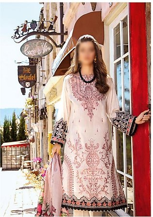 IZNIK Luxury Unstiched Lawn Collection D-05 Rosewater