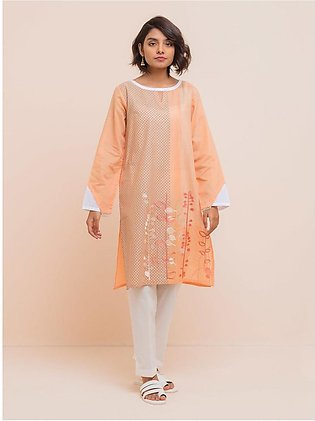 BeehTree Summer Pret Embroidered Shirt BTS20-M-28-Peach