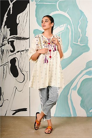 Ethnic by Outfitters Fusion Kurti WTB391469-10215430-AS-178