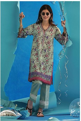 Gul Ahmed Summer Lawn20 2PC Unstitched Lawn Suit TL-276