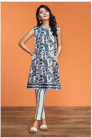 Nishat Linen Spring Summer 20 42001010-Printed Lawn Cambric 2PC