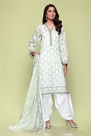 Gul Ahmed Summer Lawn20 3PC Unstitched Lawn Suit CL-652 A