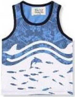 BLIND DOLPHIN TANK TOP