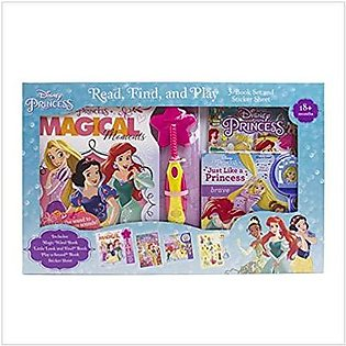 Disney Princess Read Find N Play Disney Princess Box Set -