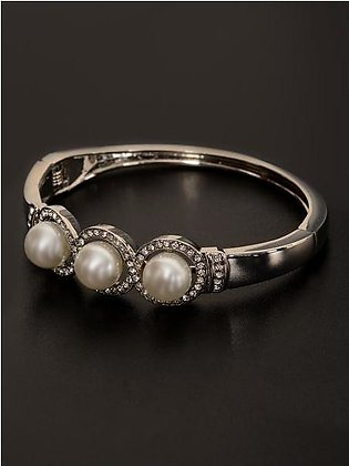 Pearl Cuff Bangle