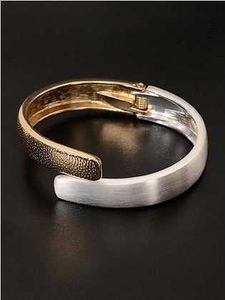 Dual Color Cuff Bangle