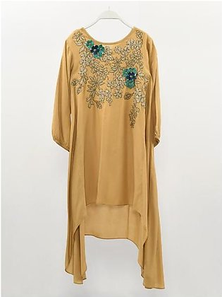 Embroidered Shimmer Shirt