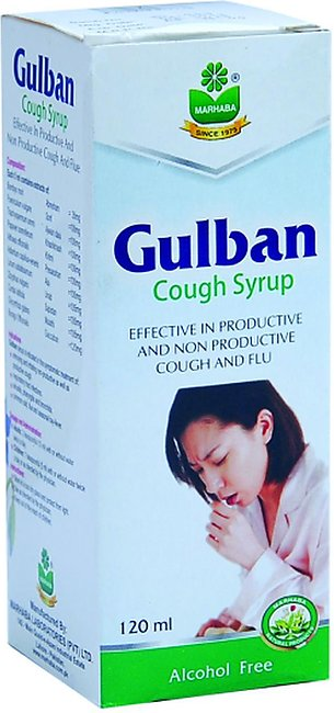 Marhaba Gulban Cough Syrup 120 ML