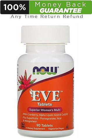 NOW EVE Superior Women's Multivitamins - 90 Tablets