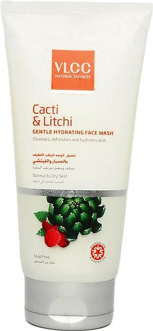 VLCC Cacti & Litchi Gentle Hydrating Face Wash - 150ml