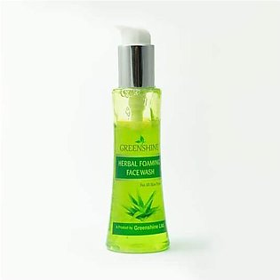 Greenshine Herbal Foaming Face Wash 100ml